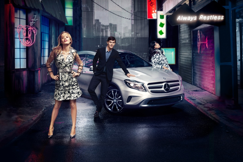 Mercedes-Benz Fashionweek Key Visual