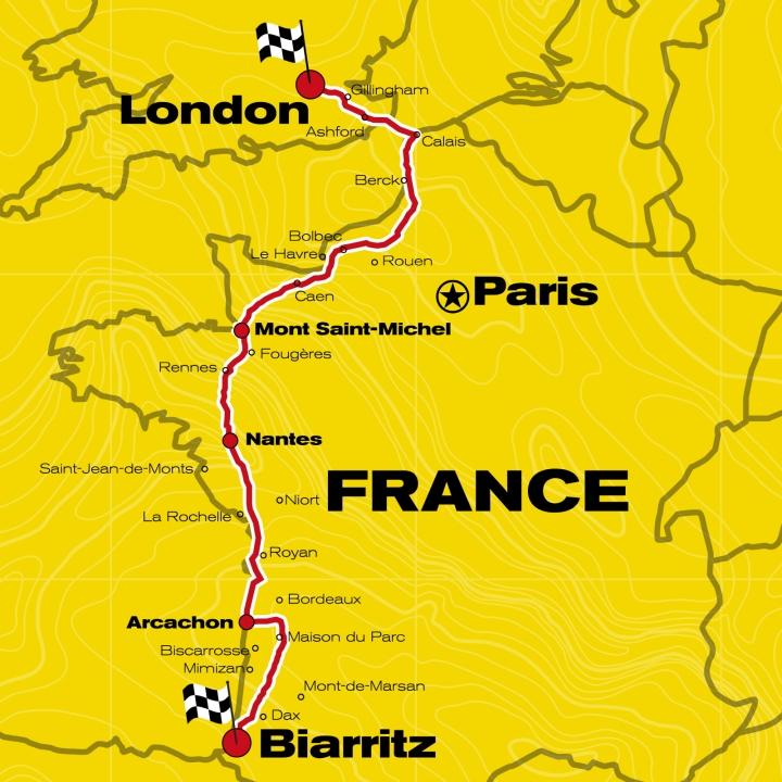 1-Trip Map