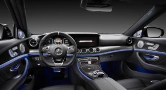 Mercedes-AMG E 63 S 4MATIC+, Interior ;Kraftstoffverbrauch kombiniert: 9,2 – 8,9l/100 km; CO2-Emissionen kombiniert: 209 - 203 g/km Mercedes-AMG E 63 S 4MATIC+, interior; Fuel consumption combined: 9,2 – 8,9 l/100 km; Combined CO2 emissions: 209 - 203 g/km