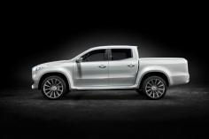 Mercedes-Benz Concept X-CLASS stylish explorer – Exterieur, Weißmetallic ; Mercedes-Benz Concept X-CLASS stylish explorer – Exterior, White metallic;
