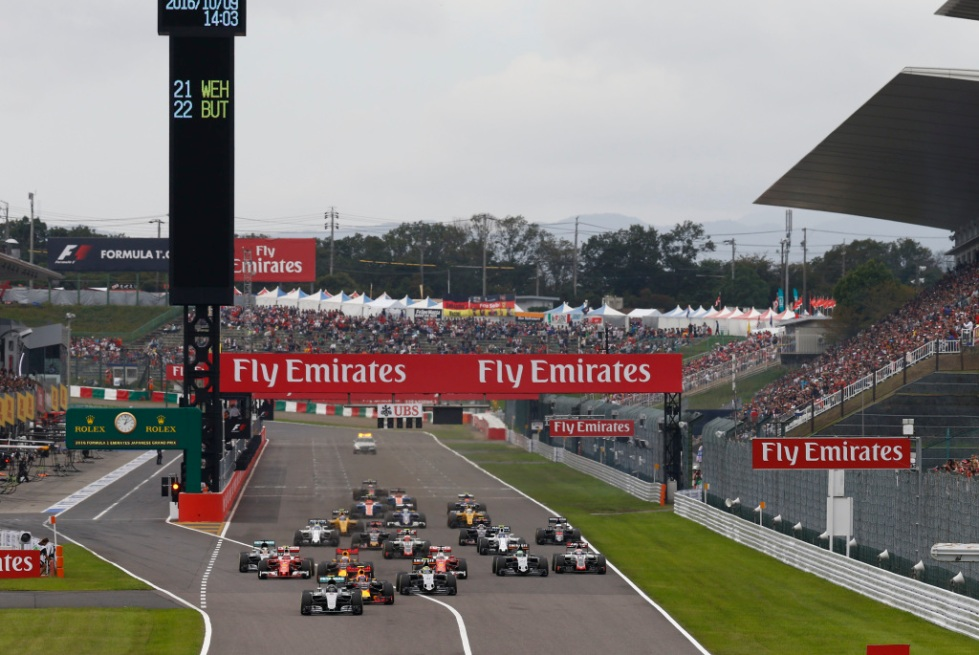 2016 Japanese Grand Prix, Sunday