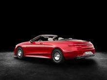 Mercedes-Maybach S 650 Cabriolet Studioaufnahme Exterior ;Kraftstoffverbrauch kombiniert: 12,0 l/100 km; CO2-Emissionen kombiniert: 272 g/km Mercedes-Maybach S 650 Cabriolet studio shot exterior; Fuel consumption combined: 12,0 l/100 km; Combined CO2 emissions: 272 g/km