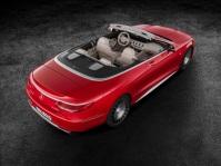 Mercedes-Maybach S 650 Cabriolet Studioaufnahme Exterior, offenes Verdeck ;Kraftstoffverbrauch kombiniert: 12,0 l/100 km; CO2-Emissionen kombiniert: 272 g/km Mercedes-Maybach S 650 Cabriolet studio shot, open soft top; Fuel consumption combined: 12,0 l/100 km; Combined CO2 emissions: 272 g/km
