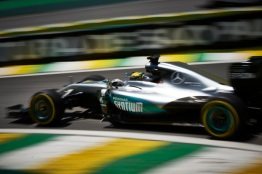 Formel 1 - MERCEDES AMG PETRONAS, Großer Preis von Brasilien 2016. Lewis Hamilton ; Formula One - MERCEDES AMG PETRONAS, Brazilian GP 2016. Lewis Hamilton;