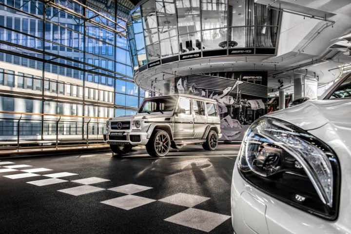 Mercedes-AMG Performance Center Berlin.