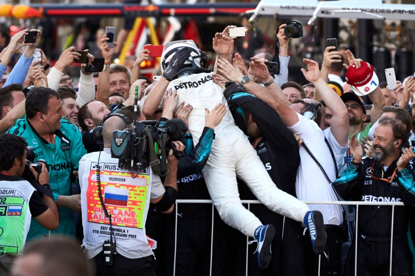 2017 Russian Grand Prix, Sunday - Steve Etherington