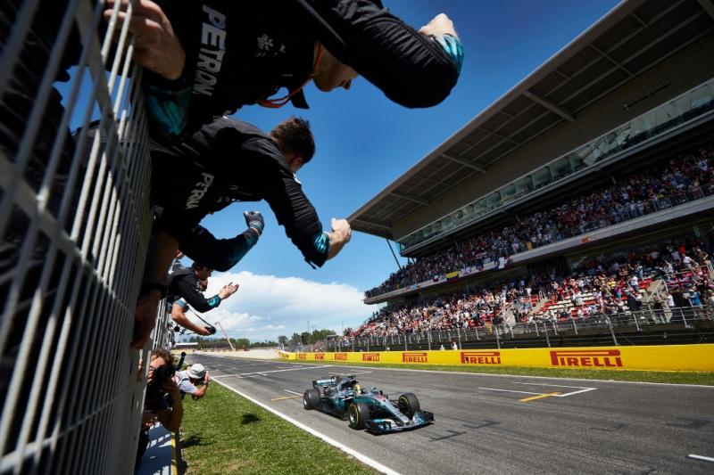 2017 Spanish Grand Prix, Sunday - Steve Etherington