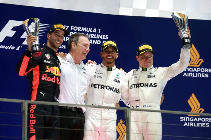 2017 Singapore Grand Prix, Sunday - Wolfgang Wilhelm
