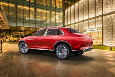 Vision Mercedes-Maybach Ultimate Luxury, Auto China 2018 Vision Mercedes-Maybach Ultimate Luxury, Auto China 2018